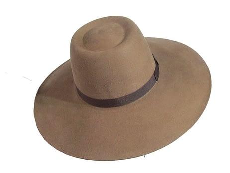 Sombrero Lagomarsno Marron Claro
